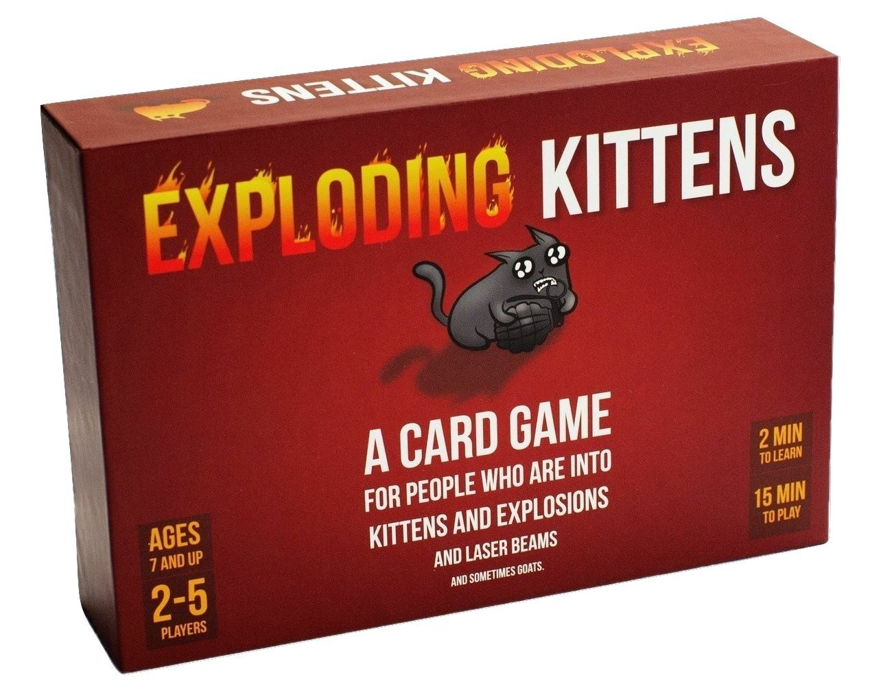 Exploding Kittens Card Game Family Fun