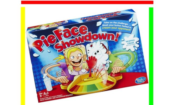 Pie Face Countdown Game