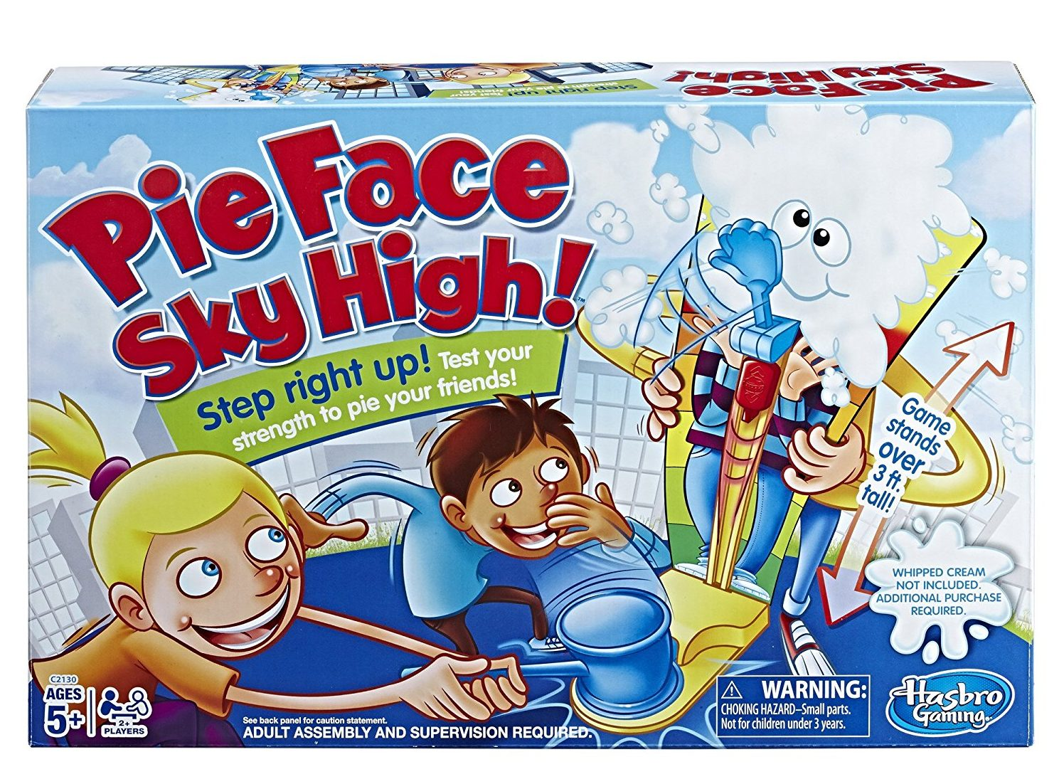 Pie Face Sky High Party Games