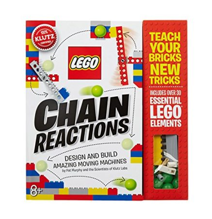 Check Amazon's Price on the Klutz LEGO Chain Reactions Craft Kit
